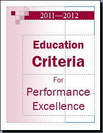 Baldrige Education Criteria