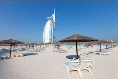 Dubai Burj Arab Beach